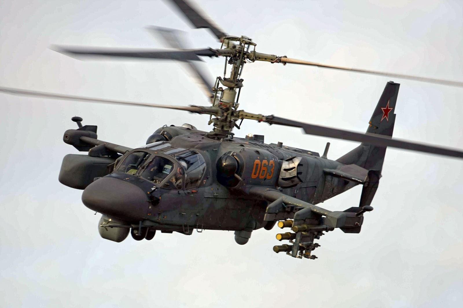 Ka-52 Alligator Attack Helicopter
