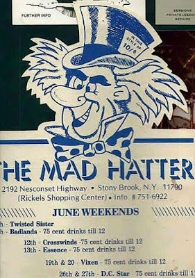 The Mad Hatter rock club... Stony Brook Long Island, New York