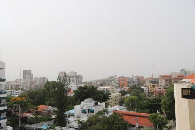 Las temperaturas estará calurosas y densa concentración de polvo del Sahara en RD este martes