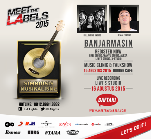 meet the label 2015 banjarmasin