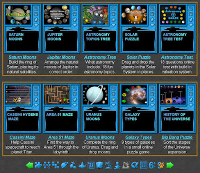 Astronomy Games for Students
