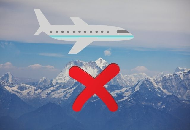 हिमालय के ऊपर से विमान क्यों नहीं उड़ाए जाते हैं?