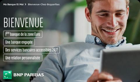 Accueil BNP Paribas Clients Particuliers