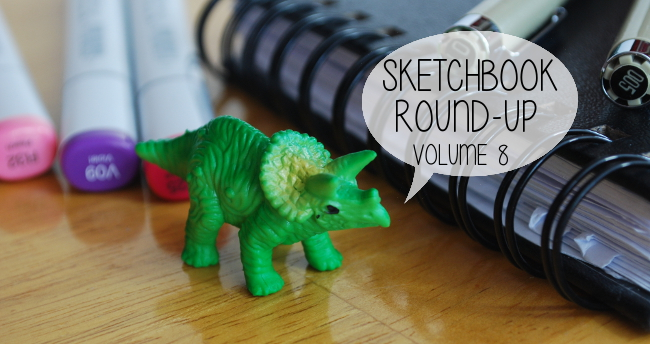 Sketchbook Round-Up: Volume 8 | Yeti Crafts