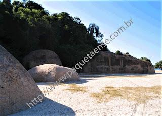 Imagem da Pedra da Moreninha
