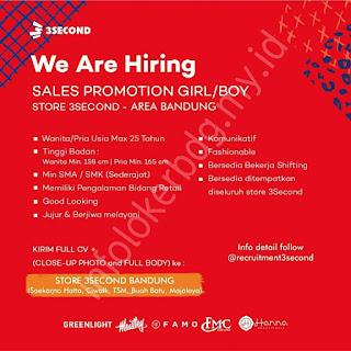 Loker Sales 3Second Bandung Agustus 2020