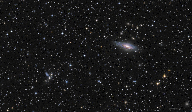 Galaxies in Pegasus Image Credit & Copyright: Péter Feltóti