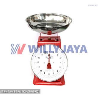 RUBY - TIMBANGAN BESI 15KG (RB-537)