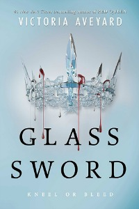 cover of Glass Sword by Victoria Aveyard