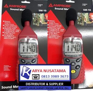 Jual Sound Level Amprobe SM-10 di Makasar