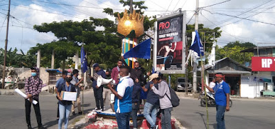 Peduli Korban Bencana NTT dan NTB, GMKI Tual Gelar Aksi Penggalangan Dana
