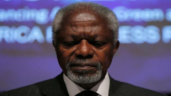 Muere a los 80 años el ghanés Kofi Annan, ex secretario general de la ONU