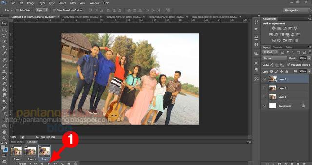 Cara Membuat Animasi SlideShow Foto Menggunakan Photoshop