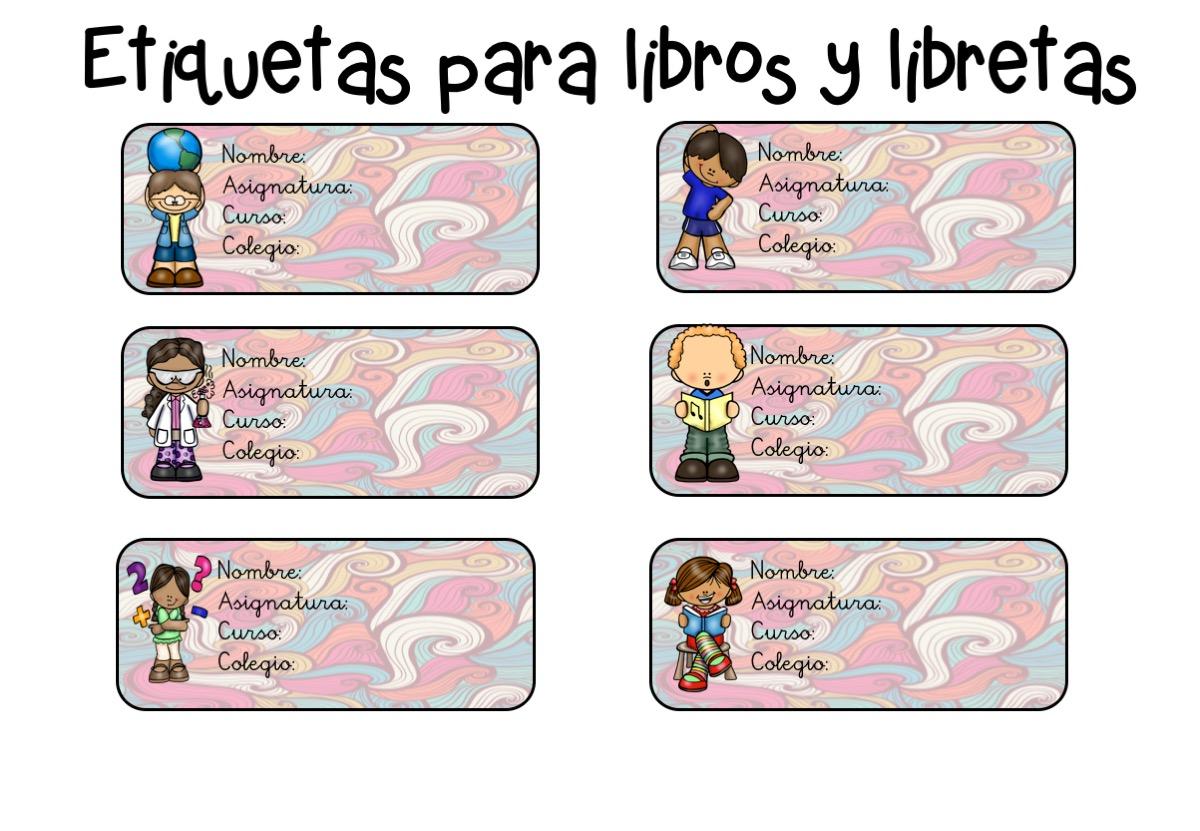Dibujos Para Colorear De Libro Y Libreta: SGBlogosfera. María José Argüeso: PARA LIBROS Y LIBRETAS