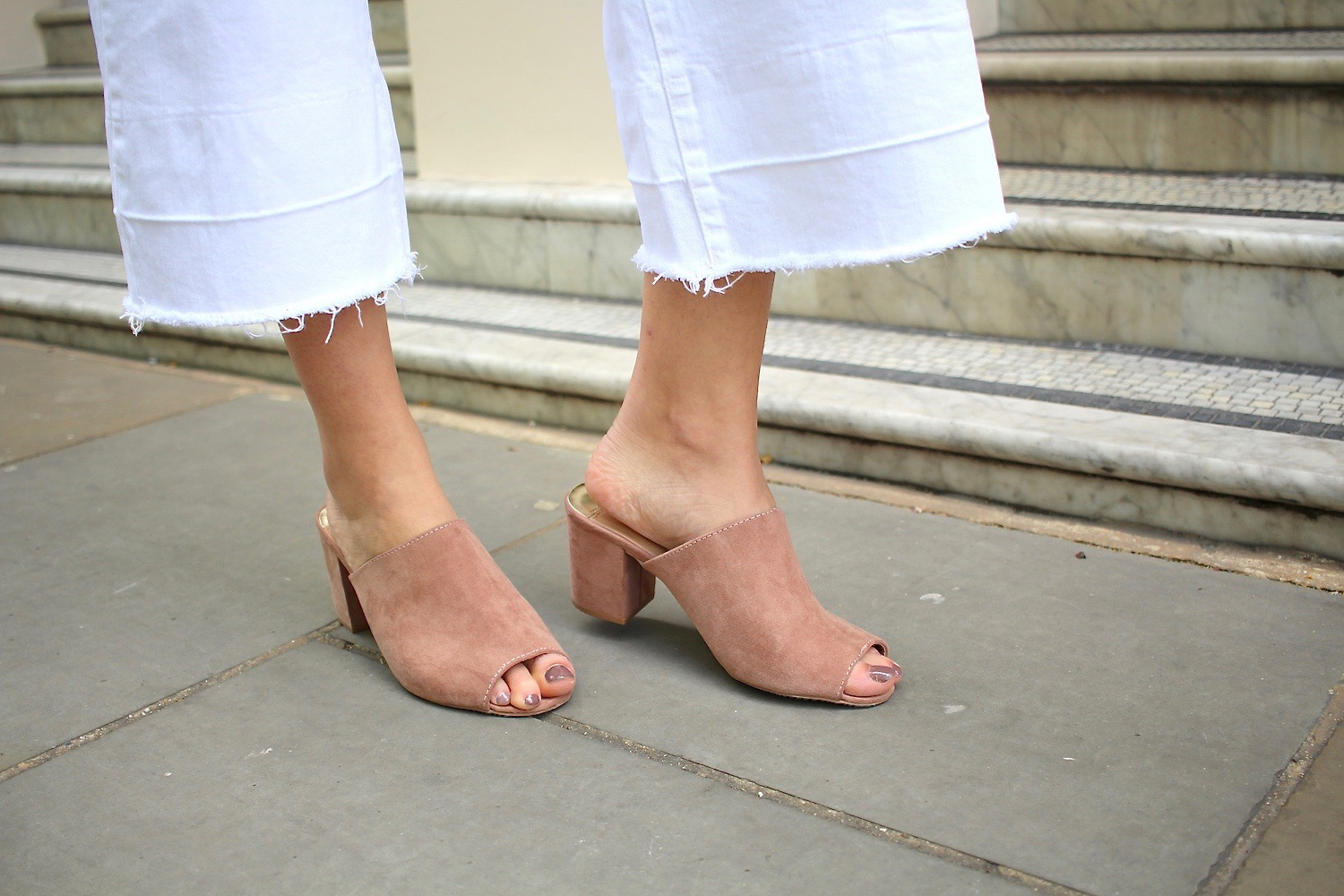 dorothy perkins nude mules spring