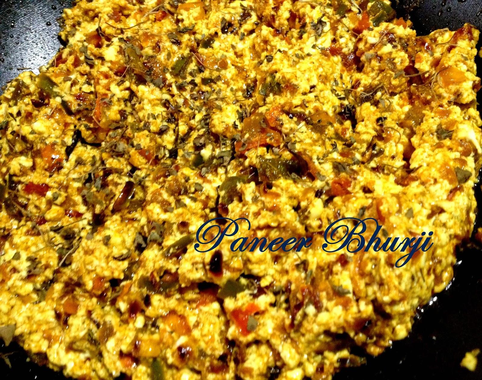 Easy cooking with ekta paneer bhurji recipe in hindi scrambled paneer bhurji recipe in hindi scrambled cottage cheese restaurant style by ekta forumfinder Images