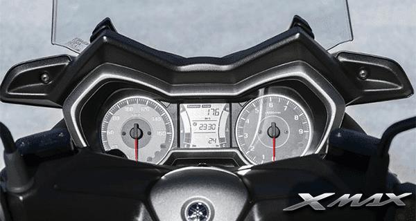 Yamaha-Xmax-250-Meter