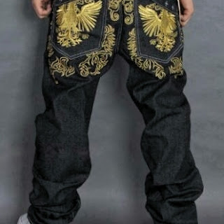 Bling embroidered jeans, # 6 bling jeans