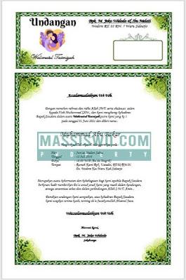 undangan walimatul aqiqah doc