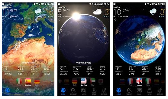 Weather Nowأفضل تطبيقات الطقس على أندرويد و iOS