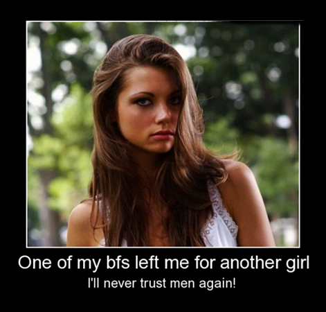 Teenries: One of my BF left me for another Girl