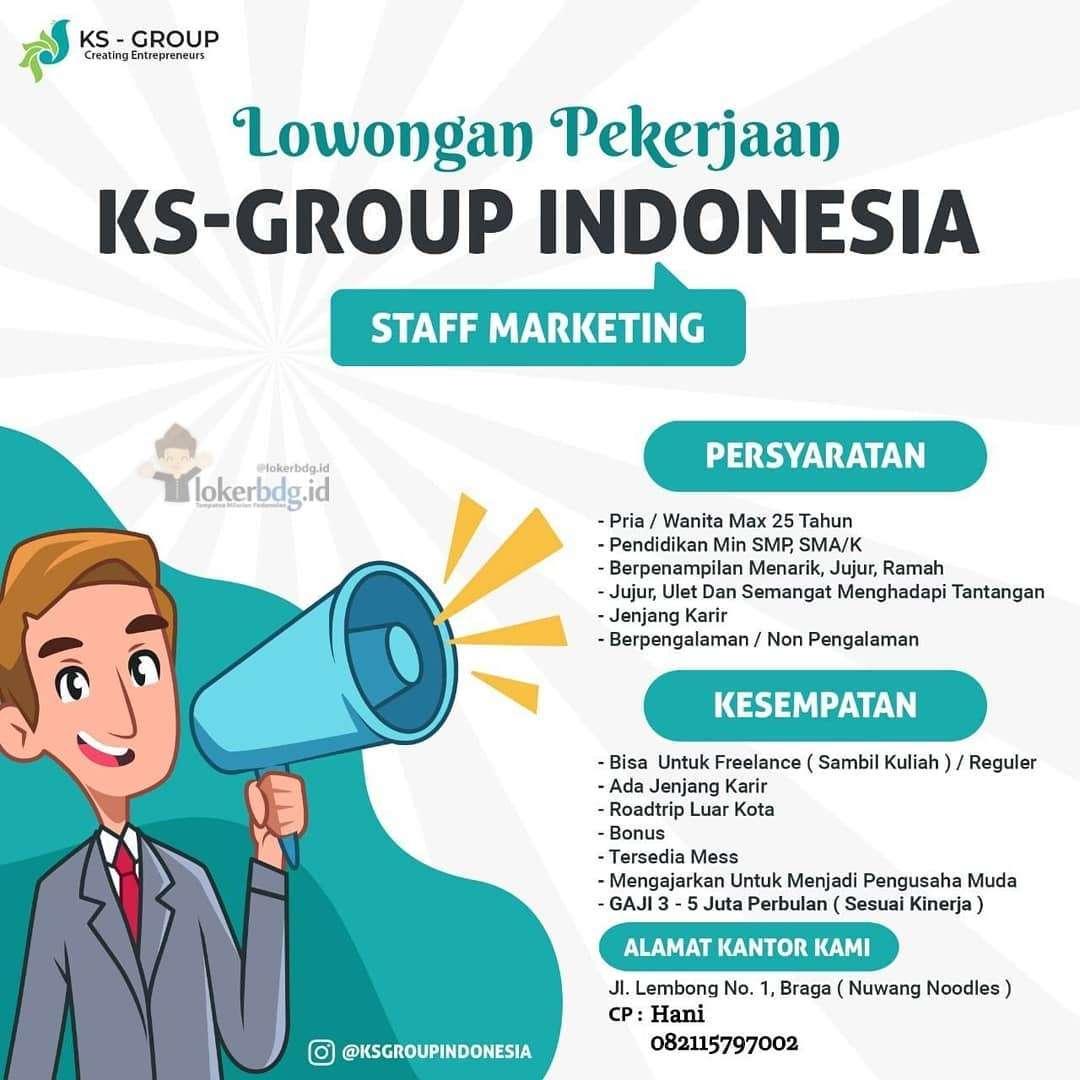 Lowongan Kerja KS Group Indonesia