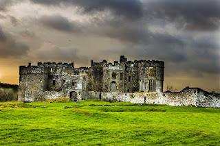 Carew Castle Pembrokeshire Coastal Path Wales