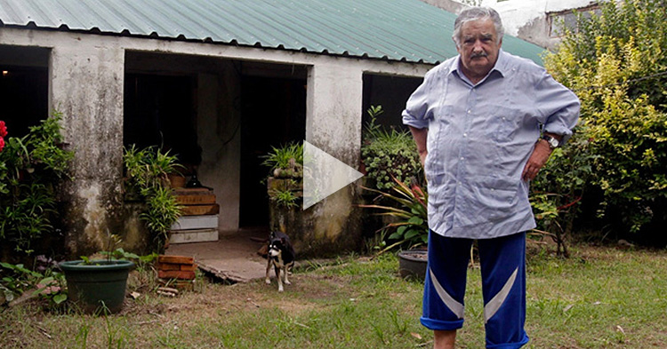 """World's Poorest President"" explains why Rich People should be separated from Politics"