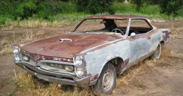 1965 Pontiac Gto Project Car
