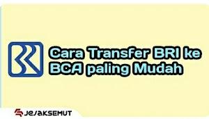 Cara Transfer BRI ke BCA lewat  BRImo, SMS banking, dan ATM