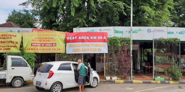 Eks Menteri SBY: Lebih Baik Rest Area KM 50 Japek Ditutup daripada jadi Ajang Kegiatan Tidak Jelas