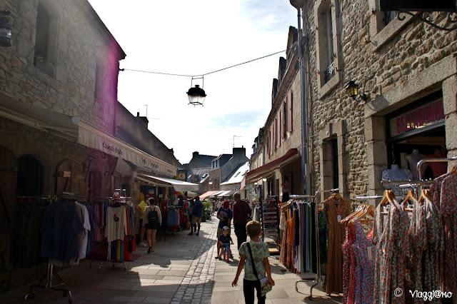 Rue Vauban la via del centro di Concarneau
