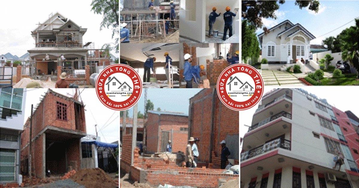 Sửa nhà tổng thể là dịch vụ sửa chữa nhà trọn gói