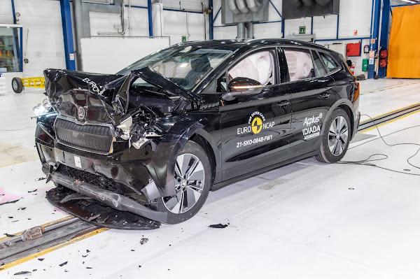 Skoda Enyaq - Euro NCAP