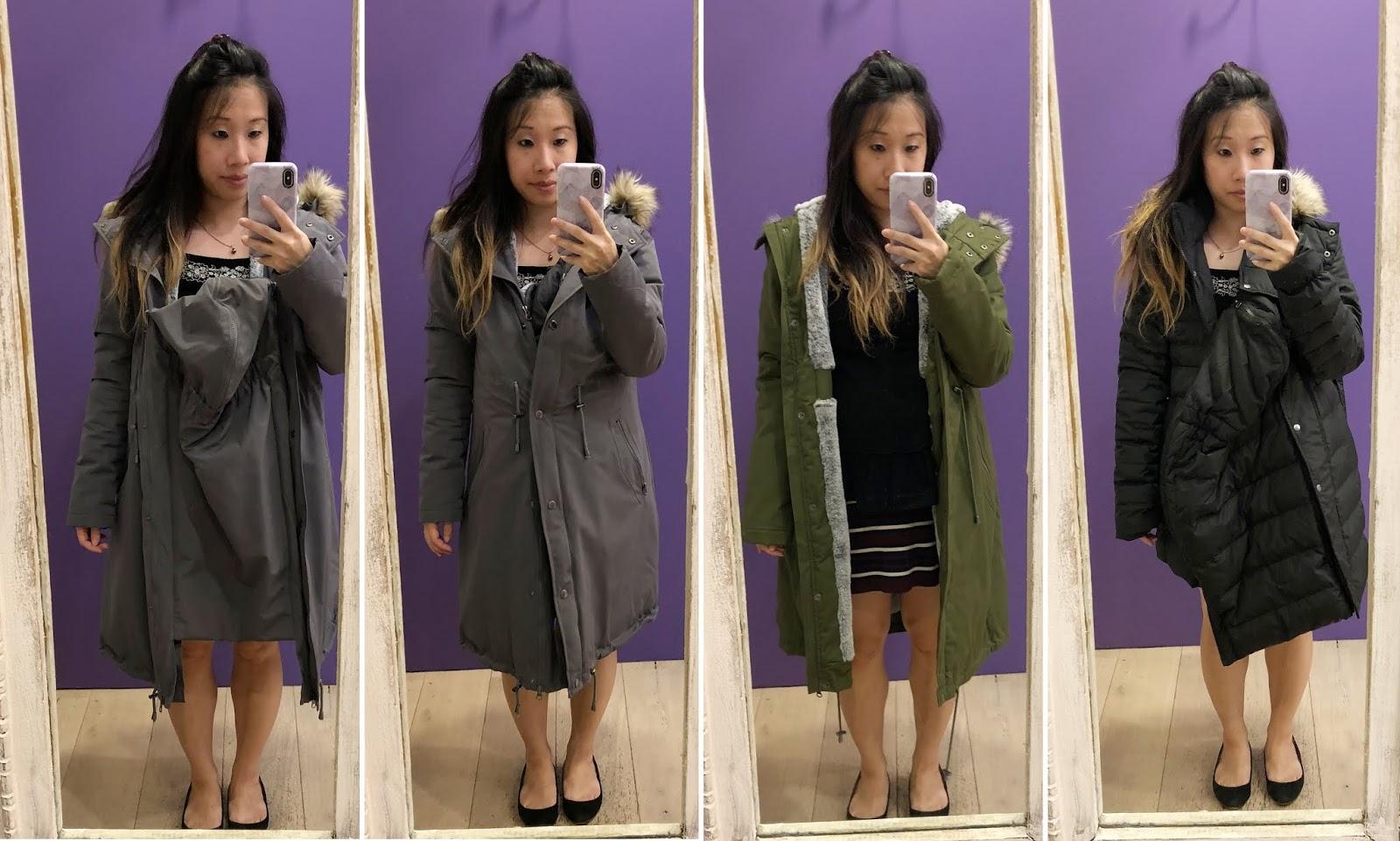 bfc51ef7e October Haul + Maternity Coat Shopping