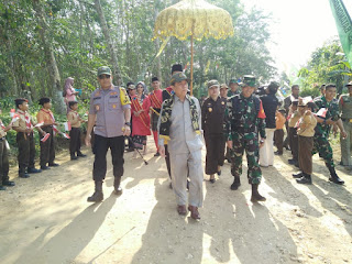 Bupati Batanghari Buka Secara Resmi  TNI TMMD Ke-105 Kodim 0415/Batanghari