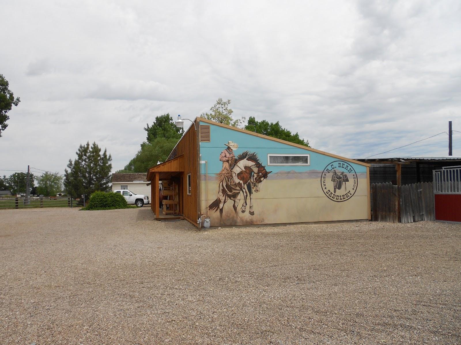Rodeo Tales & Gypsy Trails: R C  Bean Saddlery