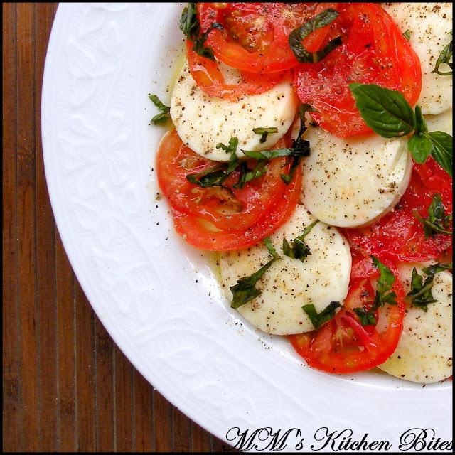 Italian Caprese Salad mmskitchenbites