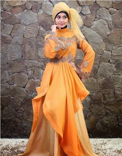 Kreasi Hijab Kebaya Untuk Pesta