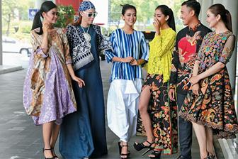 Tips Kombinasi Padu Padan Berbagai Motif Batik
