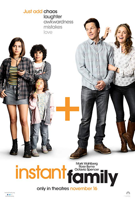 Instant Family 2018 movie poster Mark Wahlberg Rose Byrne Isabela Moner