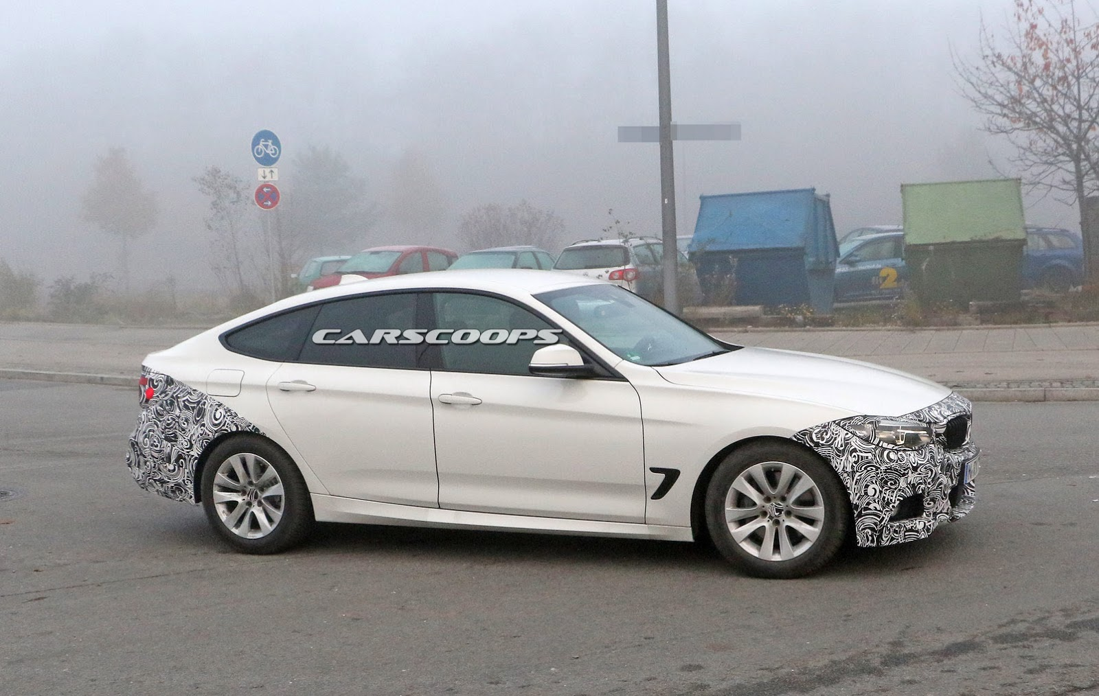 2017 BMW 3-Series GT Spied With A Barely Noticeable ...