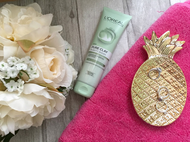 spring skincare routine loreal pure clay purity wash