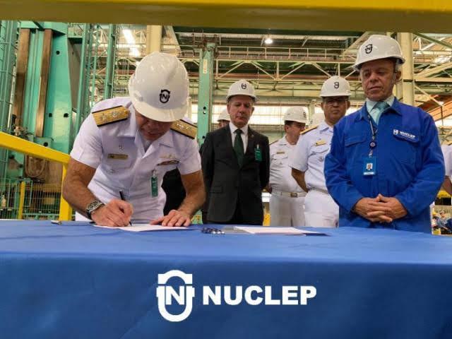 Brasil: Amazul y Nuclep firman contrato para construir prototipo de reactor nuclear para submarino