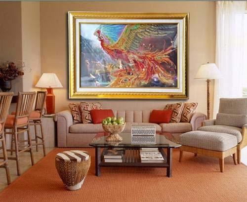 diamond painting finish dengan tanpa pigura diamony 3d. Black Bedroom Furniture Sets. Home Design Ideas