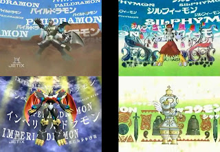 Digimon Adventure 02 DNA Digivolving Paidramon Imperialdramon Silphymon Shakkoumon