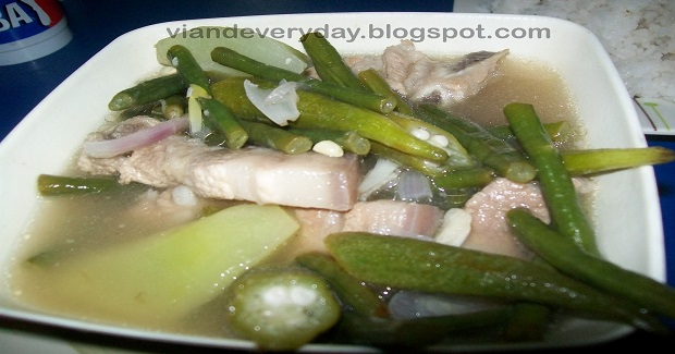 Pork Sinigang With A Twist Recipe