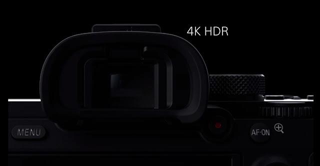 Sony quay 4k HDR