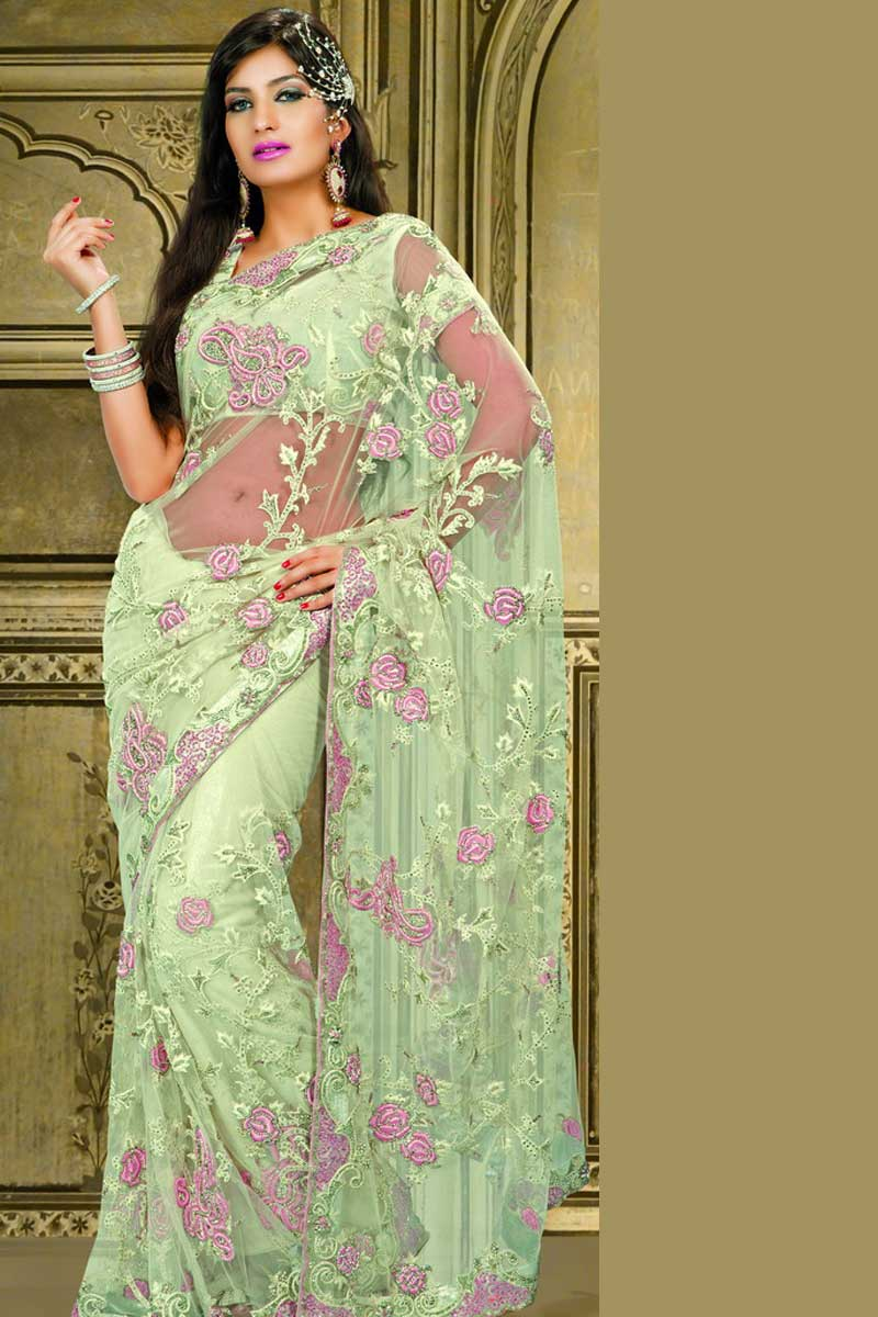 Embroidered Sarees Missy Lovesx3