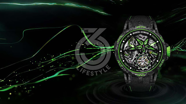 Roger Dubuis: the Excalibur is wearing carbon